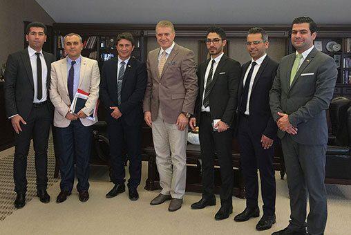 IFIA och Istanbul Aydin University möte