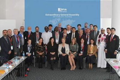 The participants of IFIA General Assembly