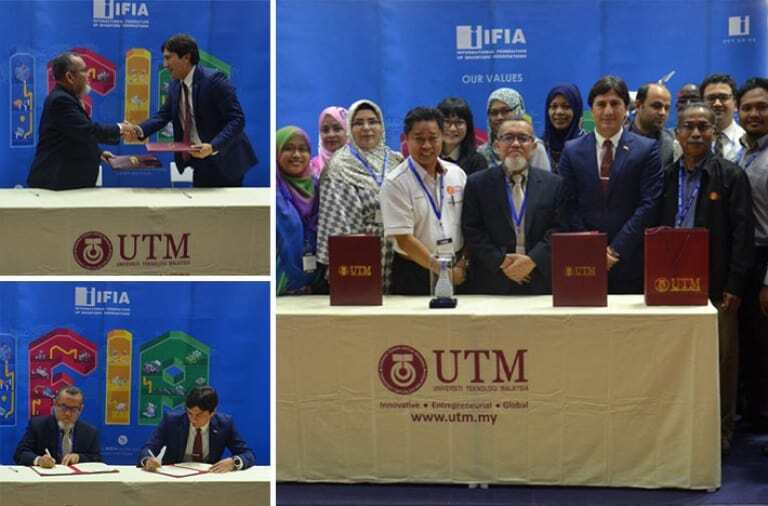 IFIA UTM sign cooperation agreement