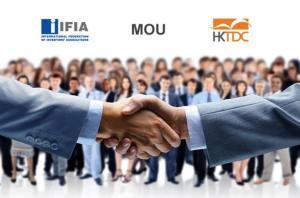 IFIA香港貿發局簽署諒解備忘錄