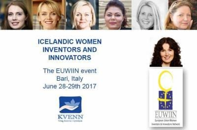 Icelandic women innovators