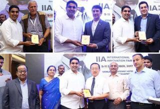Minister for ITE&C, Mr. Lokesh awards IFIA Members