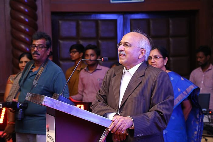 Dr. S. Rao, The President of India Innovators' Association Delivers Speech