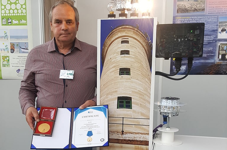 Mr. Boris Ukic, Invention: PUNTAR LIGHT B22-d, from Croatia