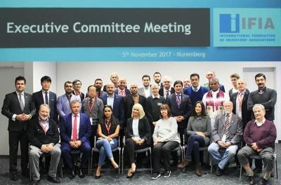 The participants of IFIA Executive Committee Meeting 2017