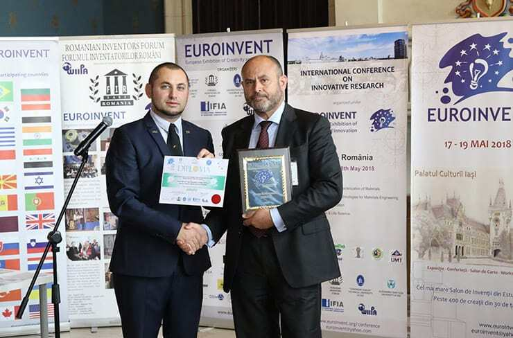 Award Winners of Euroinvent 2018