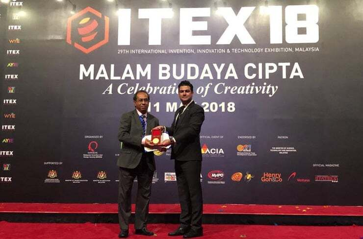 Title of Invention: Novel POP Roller Inventor: Dr. Khin Maung Ohn @ Arif, orthopedic surgeon from the University of Sabah, Malaysia