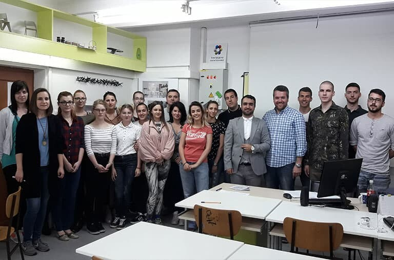 IFIA Representative Visits Belgrade Polytechnic to Discuss Cooperation