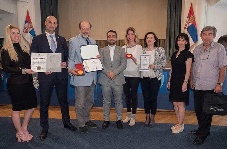 Dobitnici medalja IFIA u Beogradu na 35. međunarodnoj izložbi izuma
