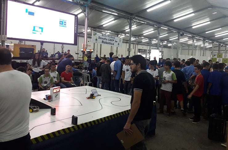 Competetion Arena in Robotics at 10th Innovacities