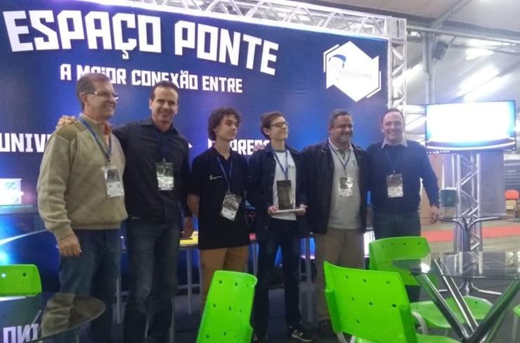 Alireza Rastegar Trophy winner at 10th Innovacities