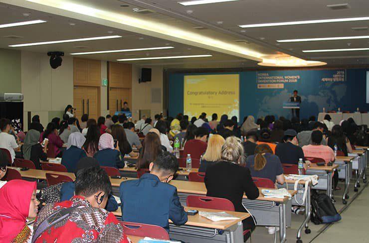 The participants of Korea International Women's Invention Forum