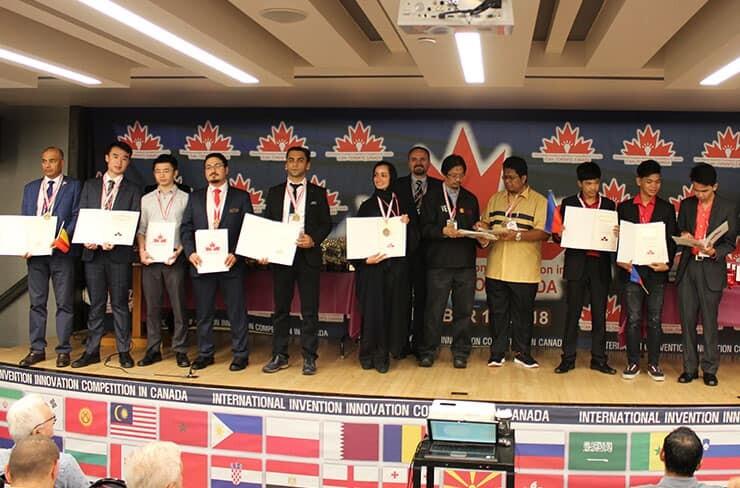 Award Winners in iCAN 2018