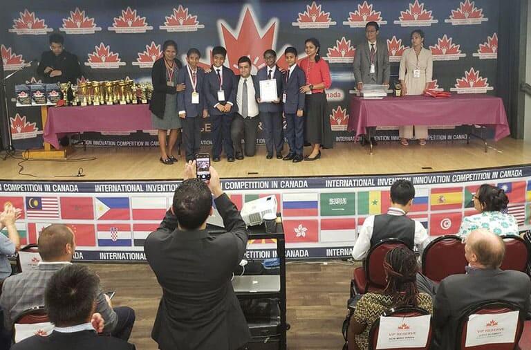 IFIA Award Winners in iCAN 2018