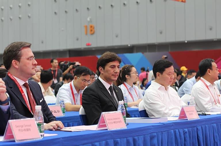 Mr. Alireza Rastegar, IFIA President attending IEI and WIIF 2018