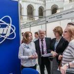 predsjednica žirija za kemijske izume 2018. gđa prof. Regina Jeziórska tijekom ocjenjivanja