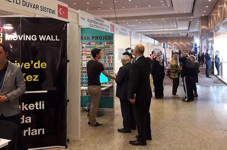 Exhibitors and Visitors in ISIF'18
