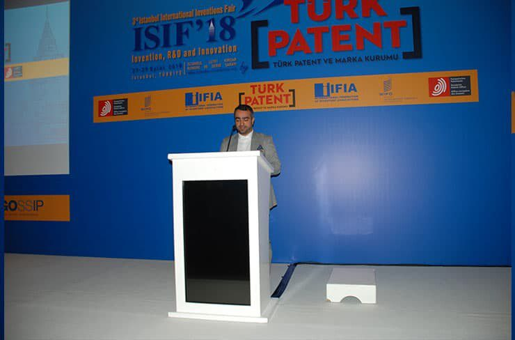 Mr. Masoud Tajbakhsh Speaks in ISIF'18 opening ceremony