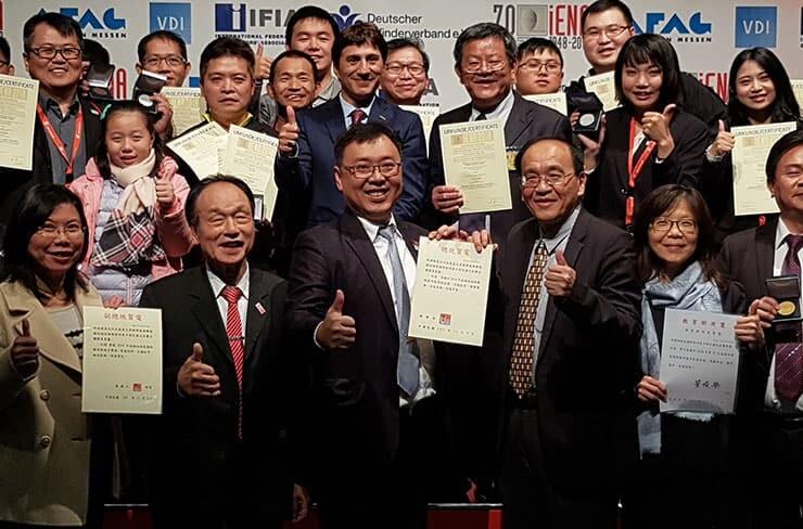 Award winners in iENA 2018
