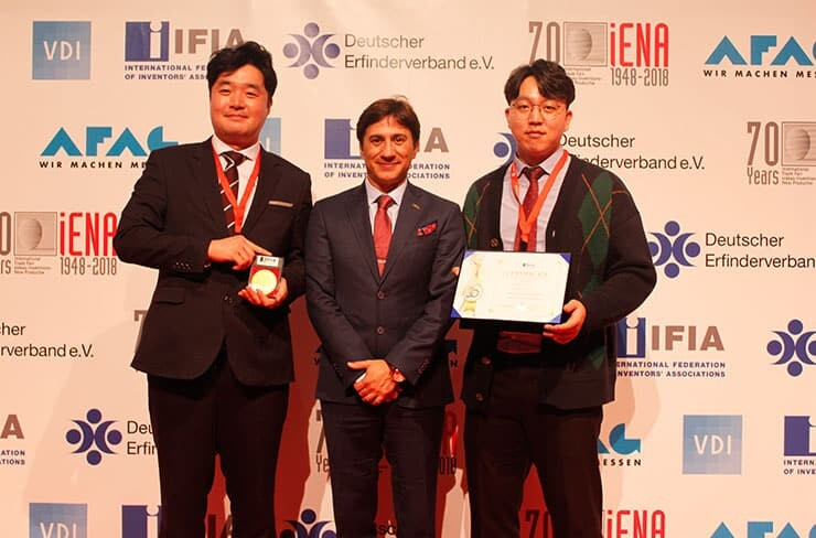 IFIA Best Invention Medal Winners in iENA 2018
