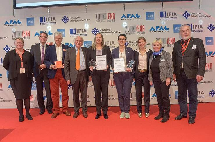 Women & Work Prize winners in iENA 2018