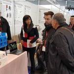 評審委員會參觀iENA 2018展示的發明