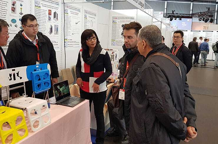Jury Board visits the showcased inventions in iENA 2018