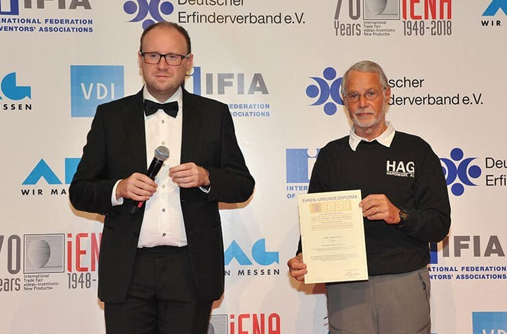 Outstanding Honour Granted to Winfried Sturm