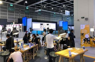 Inventors and visitors in SmartBiz Expo 2018