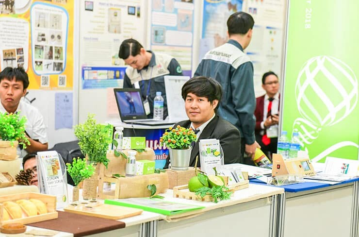 Exhibitors in Seoul International Invention Fair 2018