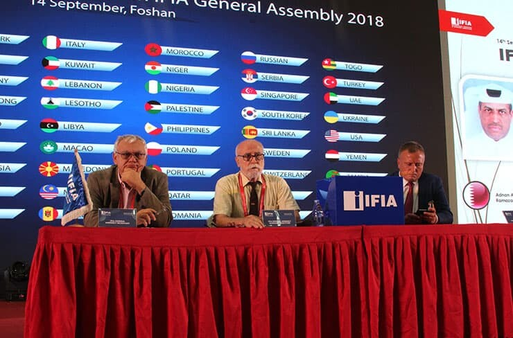 IFIA General Assembly 2018 Chairmen
