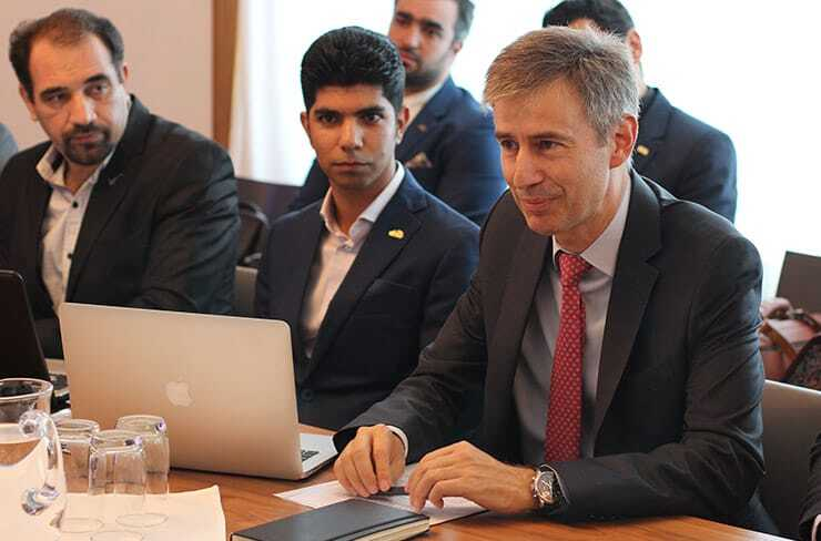 Swiss Ambassador in Iran met Iranian young inventors