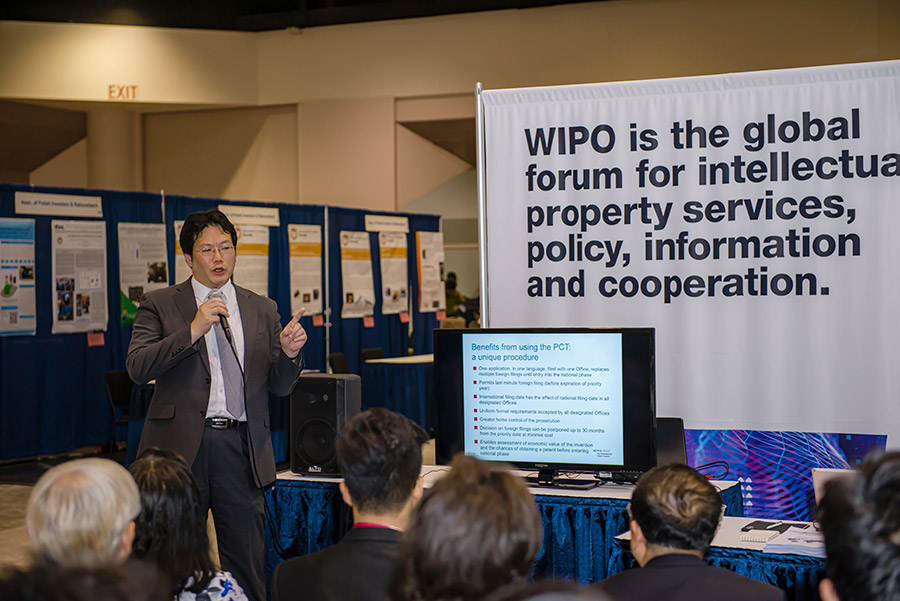 Workshop Alongside of the Silicon Valley International Invention Festival (SVIIF 2019) by World Intellectual Property Organization WIPO