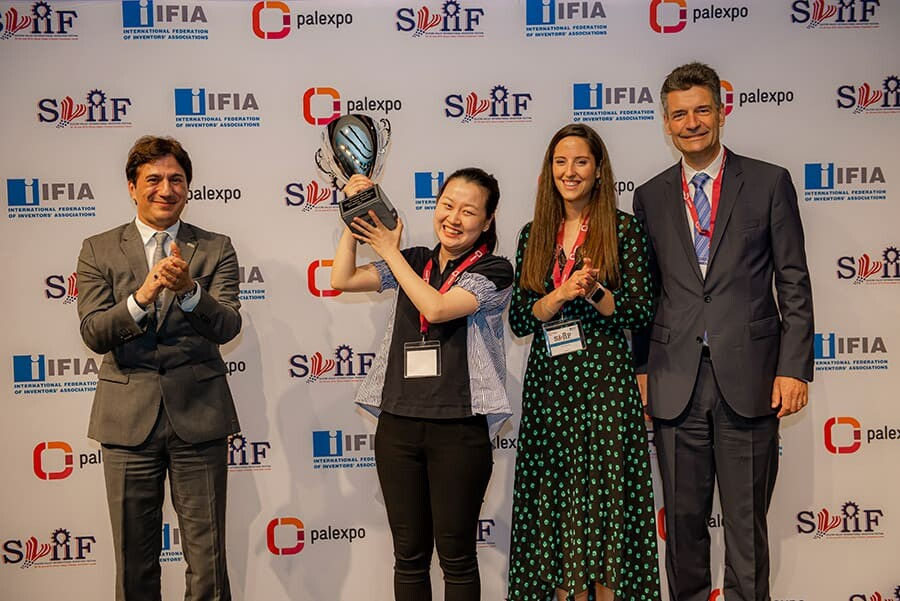 Winner of Grand Prize of the Silicon Valley International Invention Festival (SVIIF 2019)