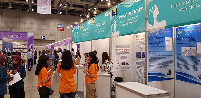 International Participants in Korea International Women's Invention Exposition 2019