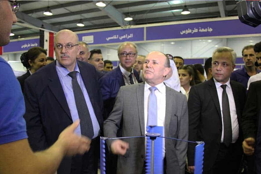 Minister's official Visit, 19th Al-Bassel Fair, Damascus, Syria