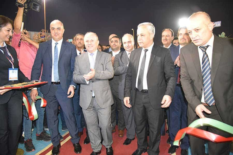 Opening Ceremony, Albasel Fair 2019, Damascus, Syria