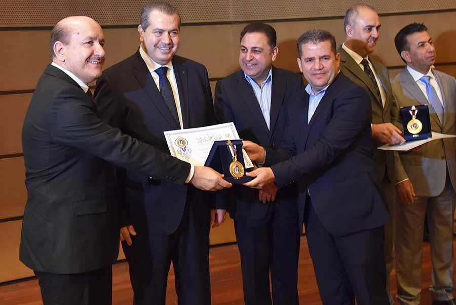 Award Ceremony, 19th Al-Bassel Fair, Damascus, Syria