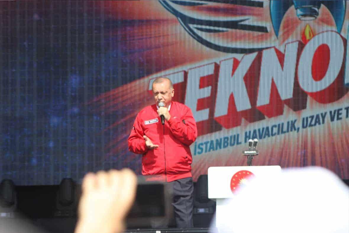Speech of President of the Turkish Republic Mr. Recep Tayip ERDOGAN in Award Ceremony
