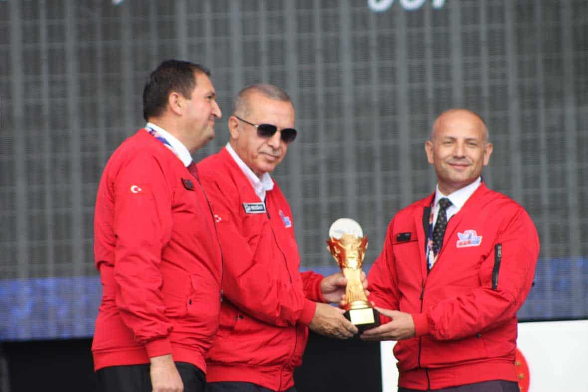 Grand Prix de l'ISIF dédié par le président de la République turque, M. Recep Tayip ERDOGAN
