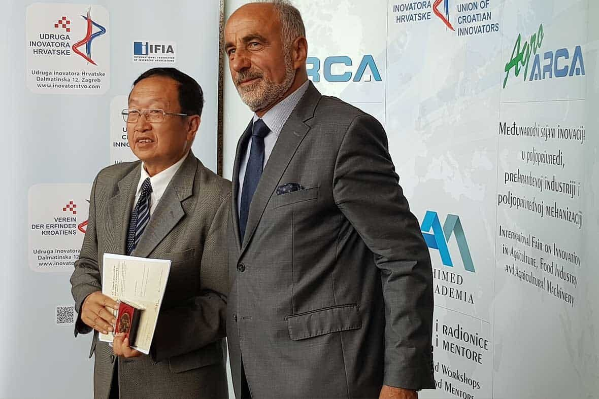 ARCA Gold Medal for the Invention from China
