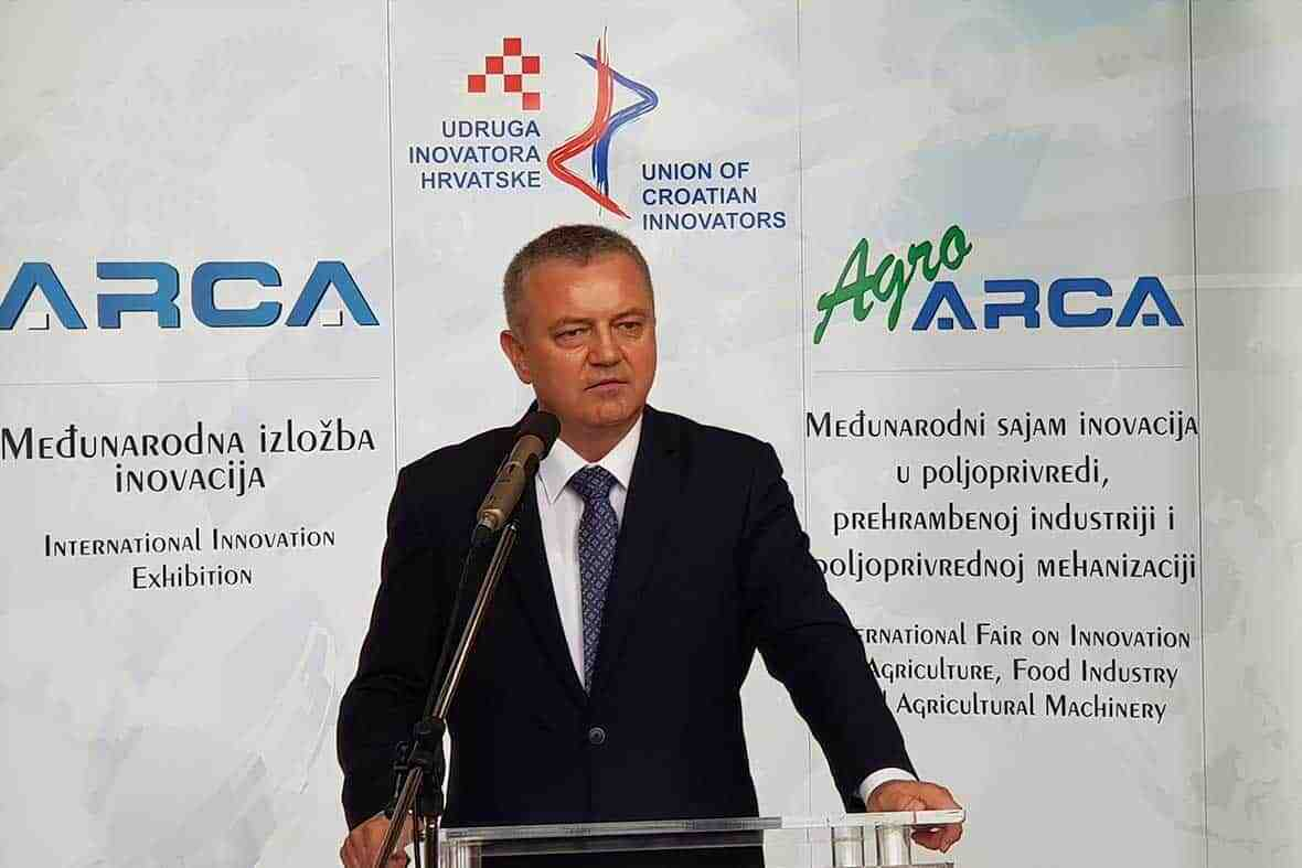 Mr. Darko Horvat's Speech, Minister of Economy, Entrepreneurship and hand Craft of Croatia