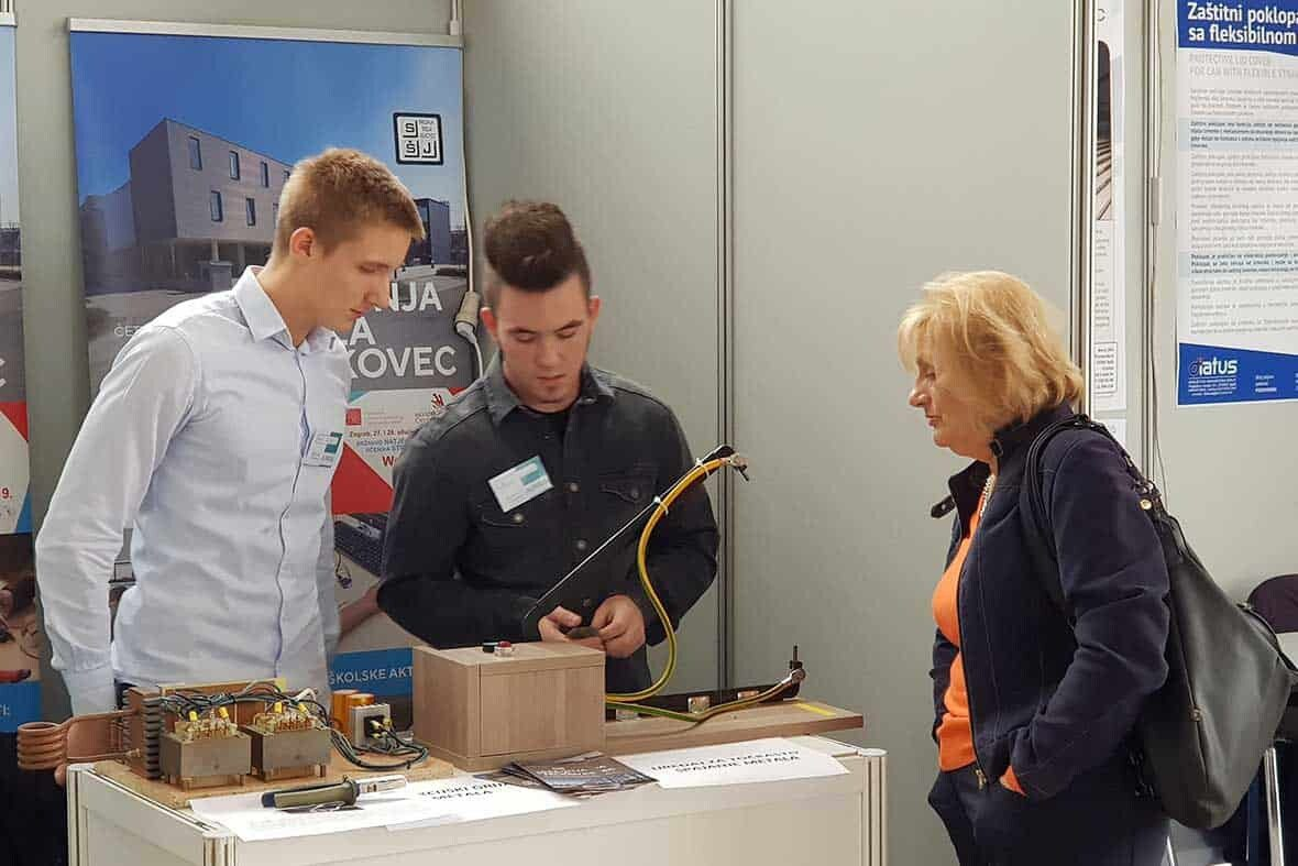 Croatian Young Inventors Booth in ARCA 2019