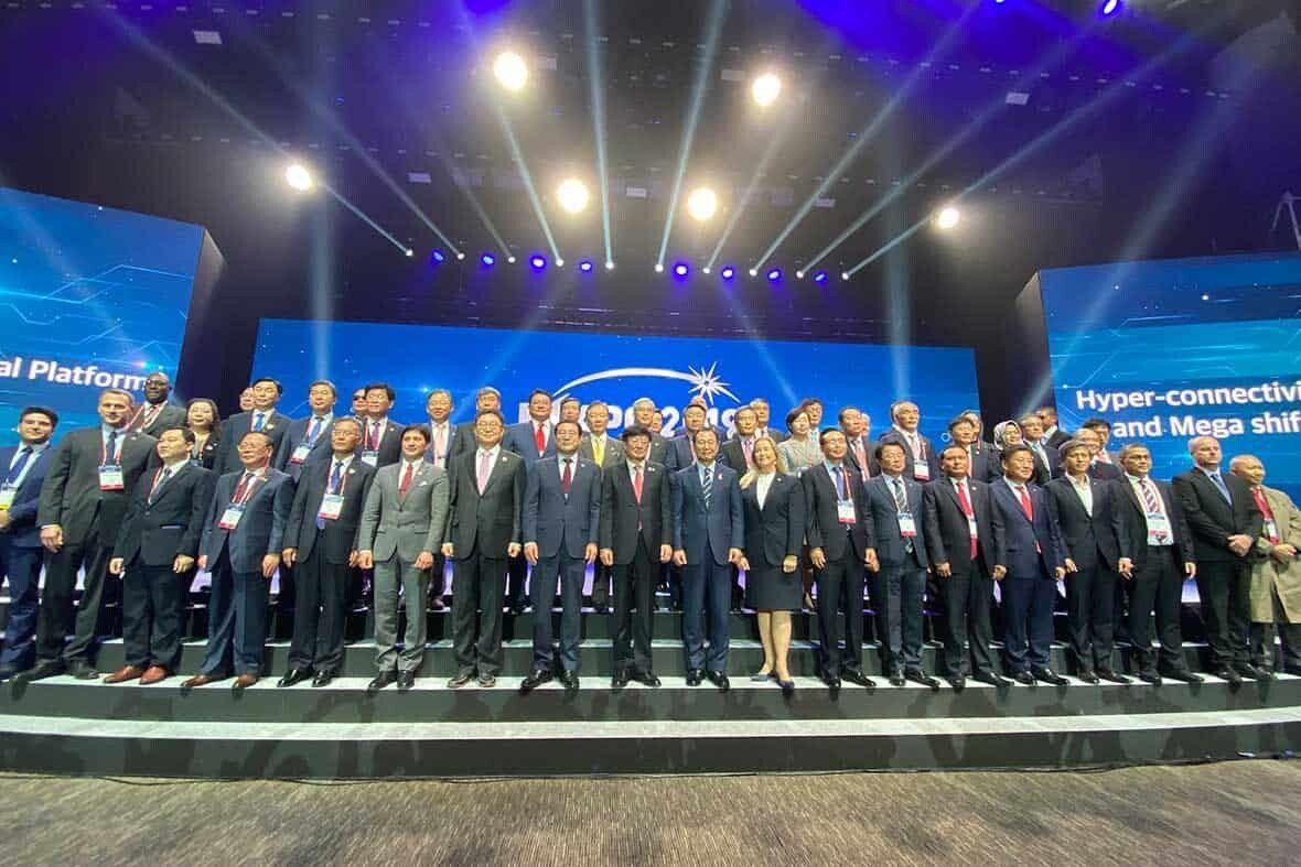 Group Photo, Official Opening Ceremony, Gwangju, South Korea