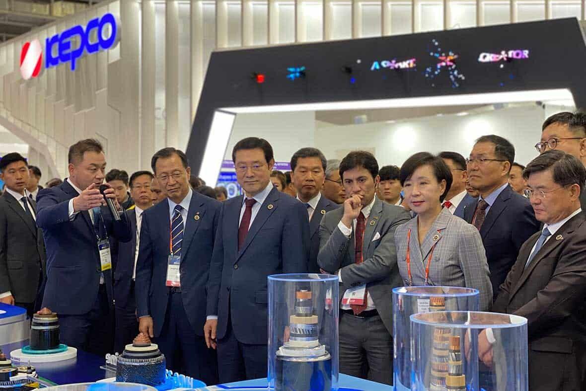 Official Visiting, Kimdaejung Convention Center, Gwangju, South Korea