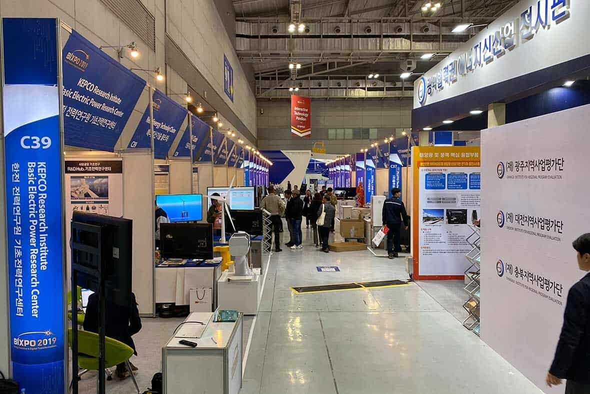 KEPCO Research Institute Inventions in BIXPO 2019