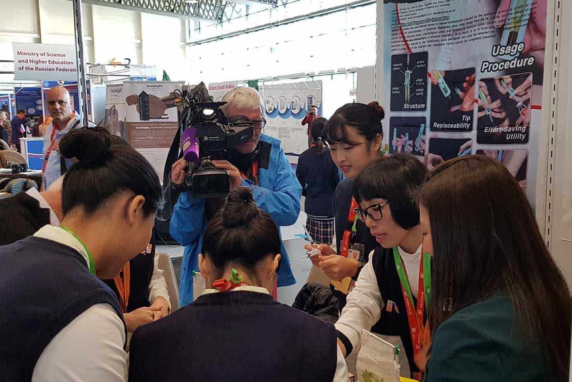 Making Interview with Chinese Inventors