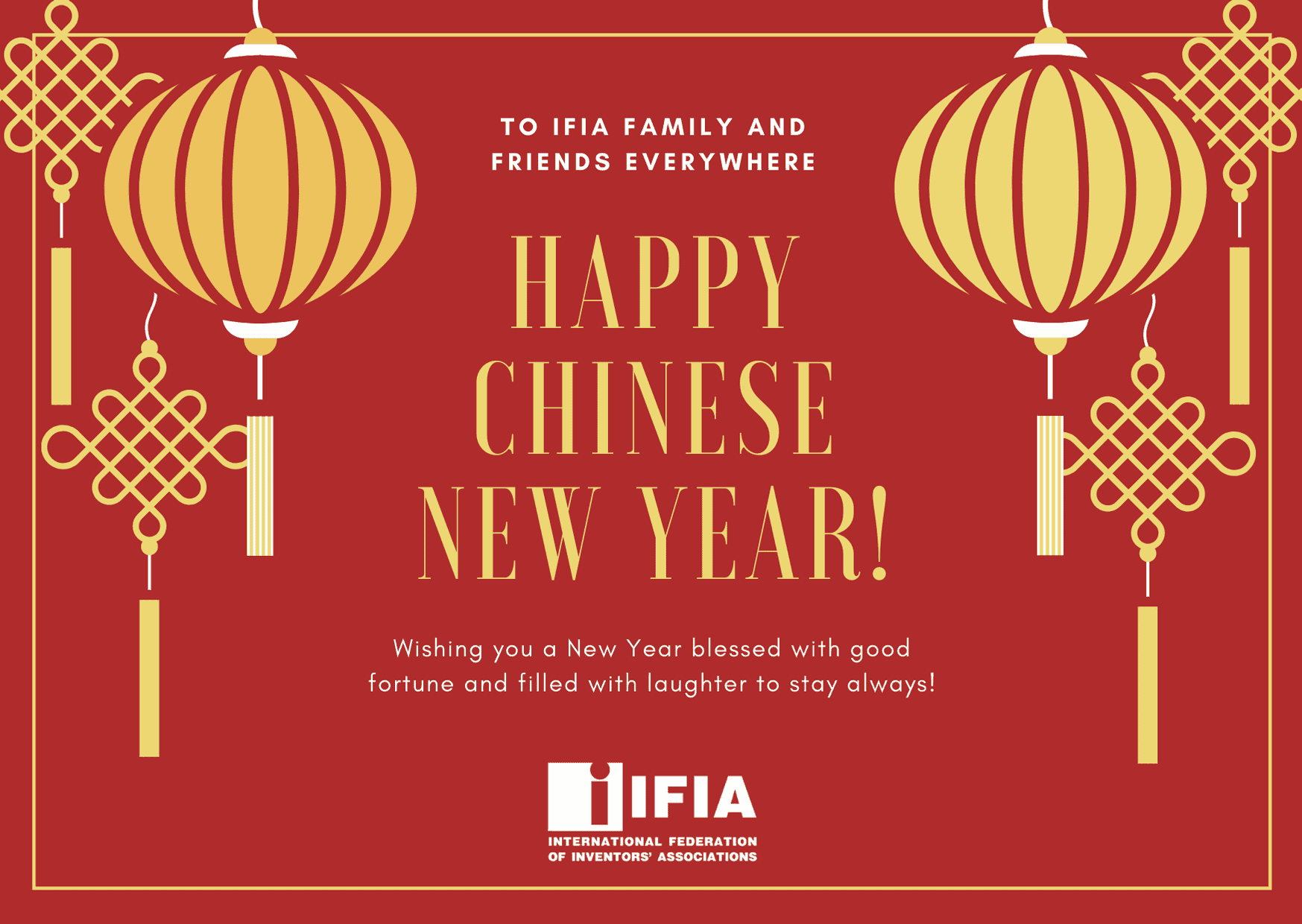 IFIA extends the best wishes on Chinese New Year 2020