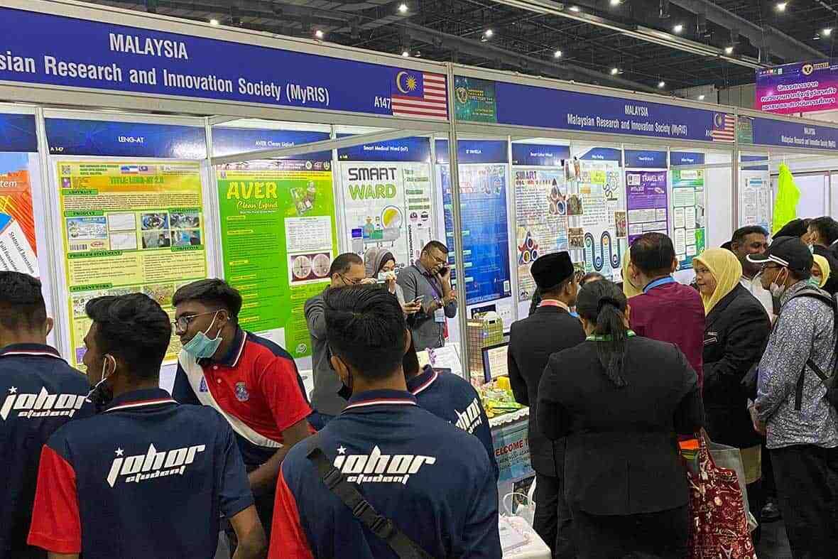 Malaysia Booth in IPITEx 2020