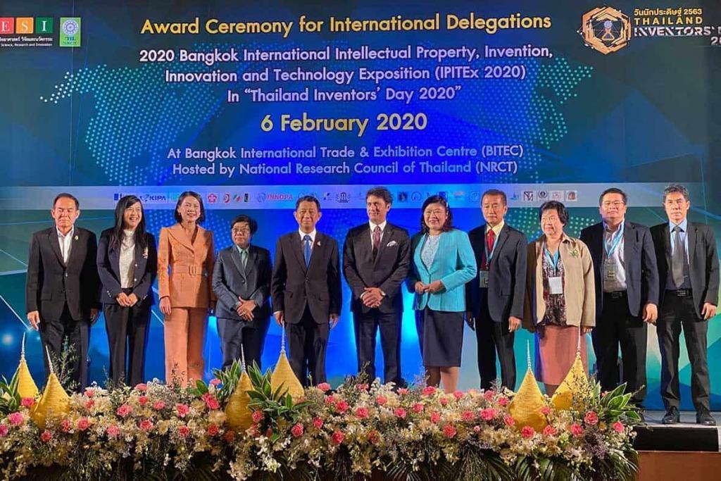Award Ceremony for International Delegation, IPITEx 2020